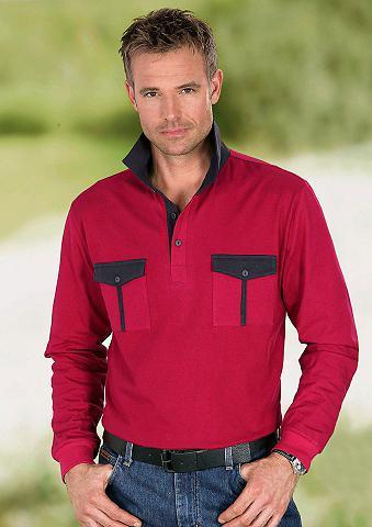 Polo marškinėliai su Paspelierungen