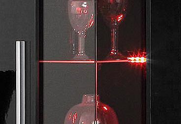 RGB-LED Stiklinių lentynų apšvietimas ...