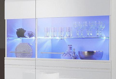 LED stiklinių lentynų apšvietimas Wess...
