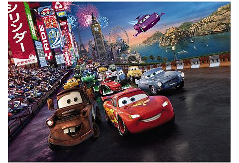 Fototapetas »Cars Race« 254/184 cm