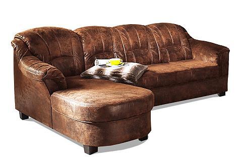 Kampinė sofa »Budapest« patogi su mieg...