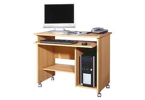 GERMANIA Kompiuterinis stalas su Tastaturauszug...