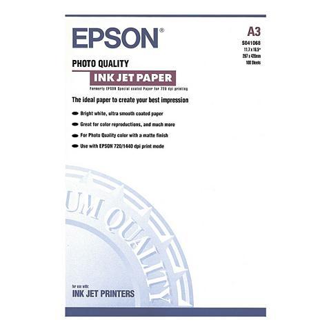 EPSON Ink Jet-Papier »Photo Quality Ink Jet«...