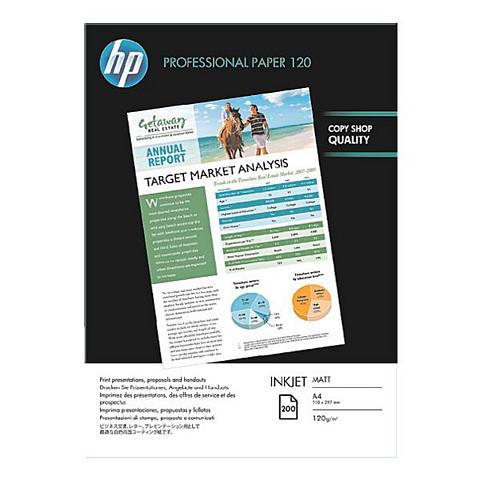 HP Ink Jet-Papier » Professional 120 matt...