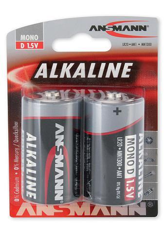 Elementai »Alkaline«