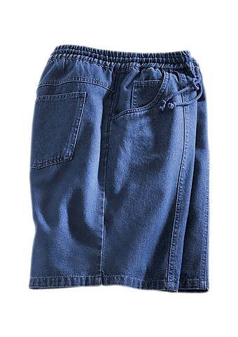 CLASSIC Šortai-bermudai in Jeans-Qualität