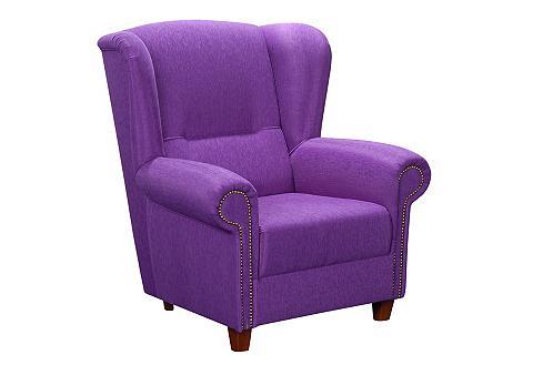 ® fotelis »Anna-Sophie« su medinės koj...