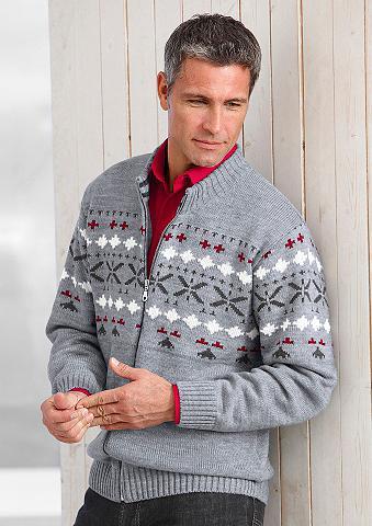 Megztinis in Rippenstrick