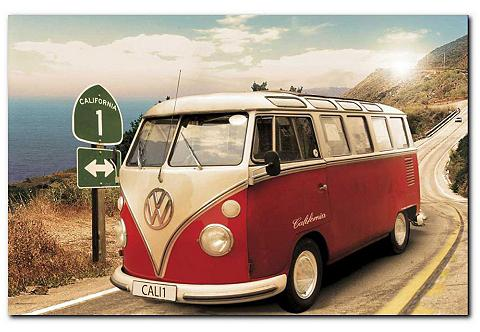 Paveikslas »VW Bus« 90/60 cm