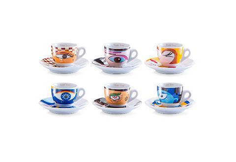 Zeller Present Espressotasse »Magic Eyes« (12-tlg)