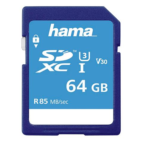 Speicherkarte SDXC 64GB Class 3 UHS-I ...