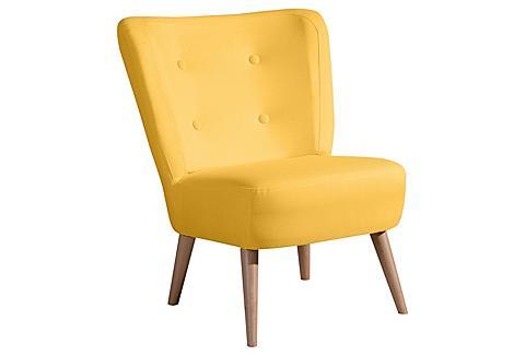 MAX WINZER ® Fotelis im retro dizainas »Nikki« su...