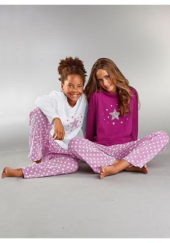 PETITE FLEUR Mädchen pižama (2 vienetai) unsere Sta...
