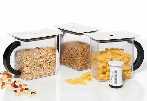 Rinkinys: Vakuum Dėžutės maistui (4 vn...