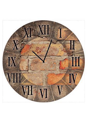 Iš stiklo sieninis laikrodis »Antique ...