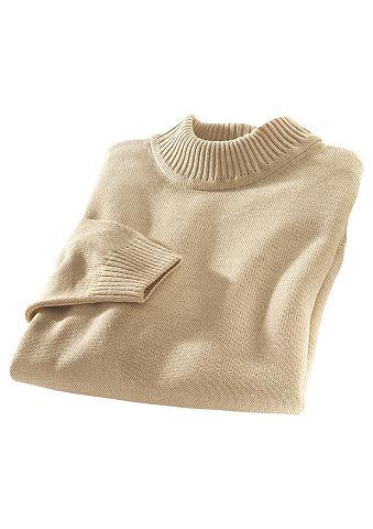 CLASSIC BASICS Megztinis su stačia apykakle