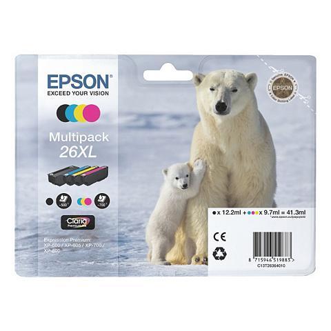 EPSON Rašalo kasečių rinkinys XL »T263640« N...