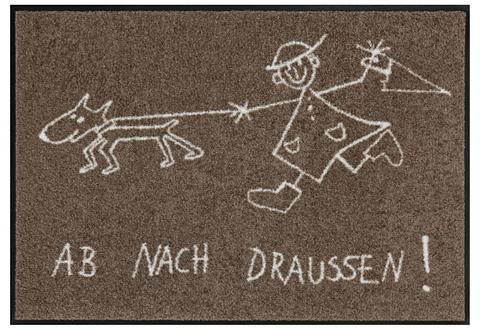Durų kilimėlis »Draussen«