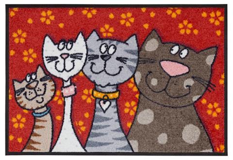 SALONLOEWE Durų kilimėlis »Katzen« rechteckig auk...