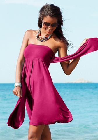 Suknelė su 5 nešiojimo variantai