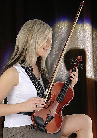 4/4 Violinen-Komplettset