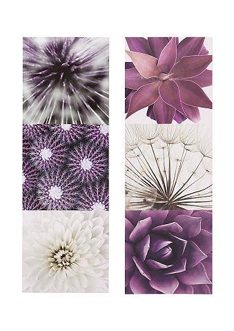 Paveikslų serija »Purple Garden« (2vnt...
