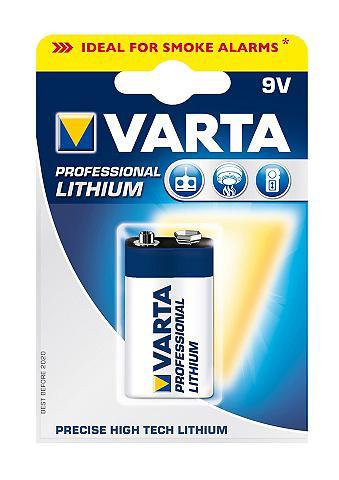 Batterie »Professional Lithium 9V Bloc...