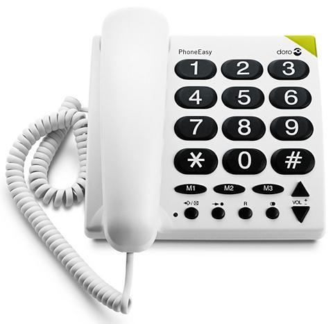 DORO Telefonas »Phone Easy 311c Weiß«