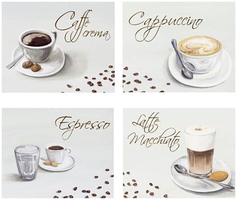 HOME AFFAIRE Meninis paveikslas »Kaffee« Kaffee (Ri...