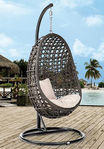 DESTINY Supamas krėslas »Coco« plastikas grau ...