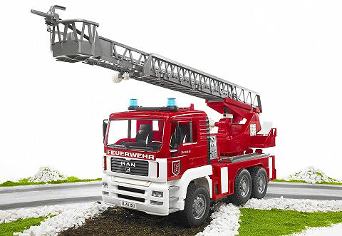 BRUDER ® Feuerwehr 02771 »MAN su Drehleiter v...
