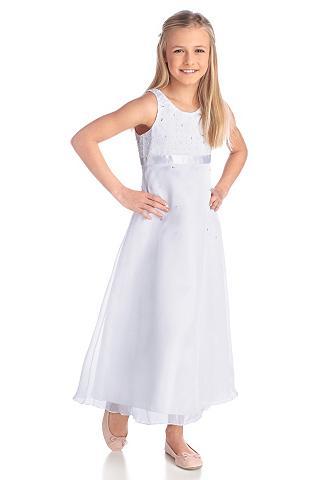 Satininė suknelė