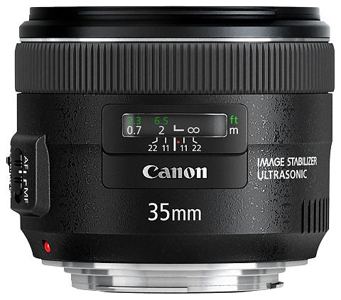 CANON EF 35mm f/2 IS USM Festbrennweite obje...