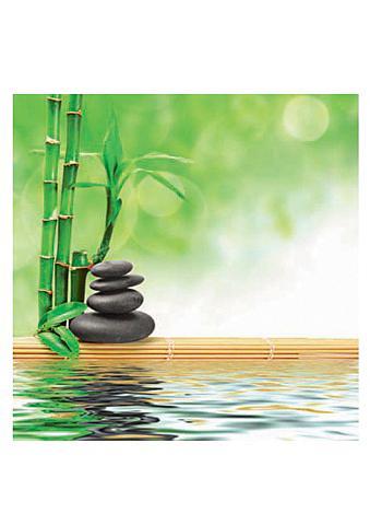 HOME AFFAIRE Stiklinis paveikslas »Spa concept zen ...