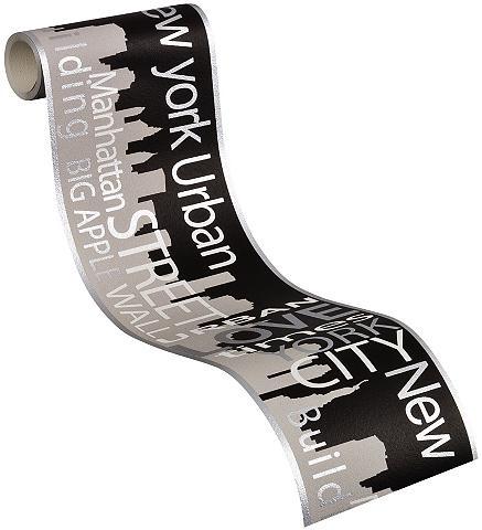 LIVINGWALLS Sieninių tapetų juosta »New York City«...