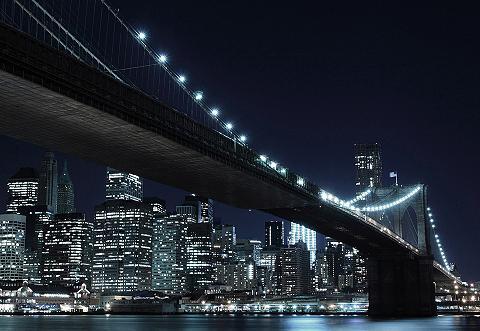 Fototapetas »New York by night« 272/19...