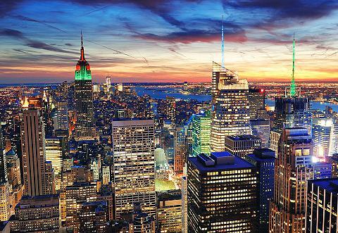 Fototapetas »New York« Größe: 272/198 ...
