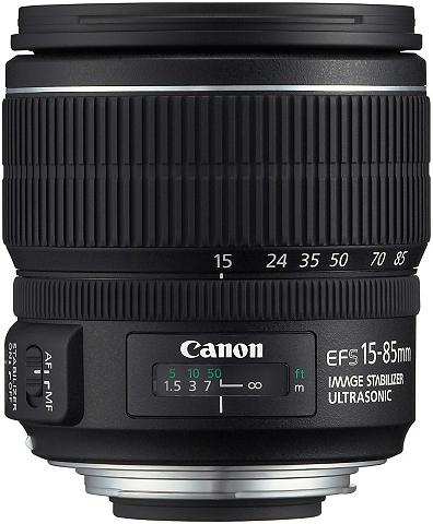 EF-S 15-85mm f/3.5-5.6 IS USM Vidutini...