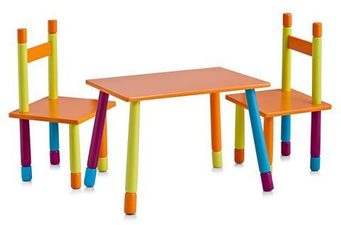 Vaikiškų baldų komplektas (3 vnt.)