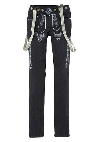 Tautinio stiliaus džinsai »Bavaria«