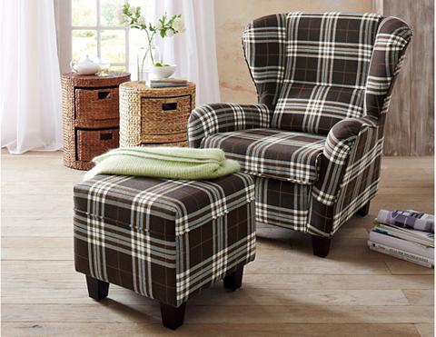 HOME AFFAIRE Fotelis su Kojų kėdutė »Oliver« Strukt...