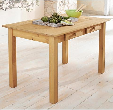 Valgomojo stalas in 2 dydžiai su Stalč...