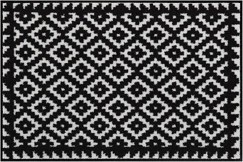 SALONLOEWE Durų kilimėlis »Tabuk Black&White« rec...
