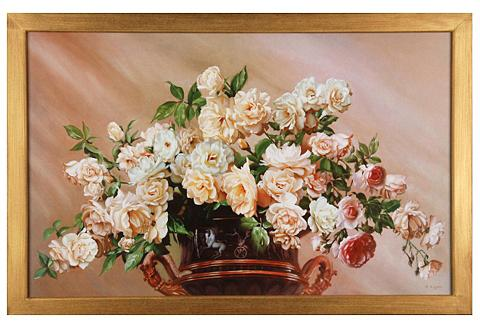 Paveikslas »White Roses« 90/60 cm