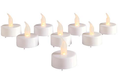 heine home LED žvakė 8 vnt. rinkinys