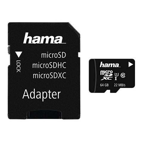 Speicherkarte micro SDXC 64GB Class 10...