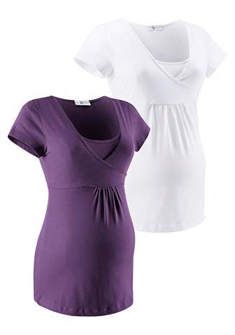 NEUN MONATE Marškinėliai nėščioms (Rinkinys 2 tlg....