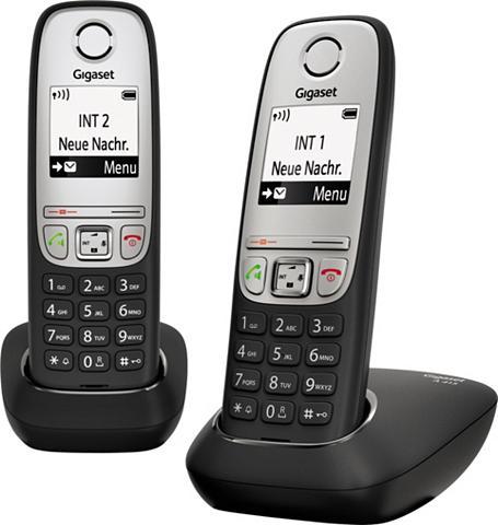 GIGASET »A415 Duo« Bevielis DECT-Telefon (Mobi...