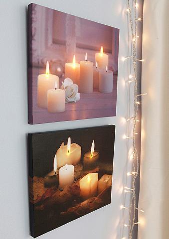 Rinkinys: LED paveikslas