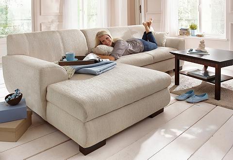 HOME AFFAIRE Kampinė sofa »Nika« MELROSE® Microfase...